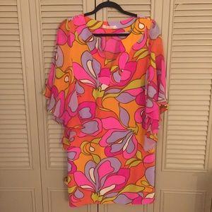 Alice & Trixie Vibrant Silk Print Dress